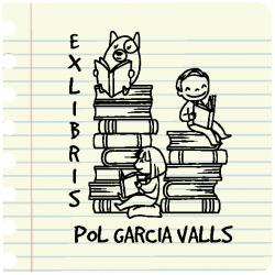 Ex-libris SILUETA NIÑO