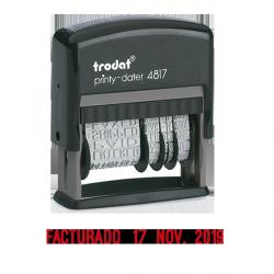 Fechador - formulario de entintaje automático 4817