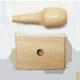 Sello con mango de madera de 4x7 cm.
