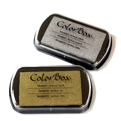 Tintas COLORBOX metálicas