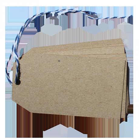 40 etiquetas rectangulares
