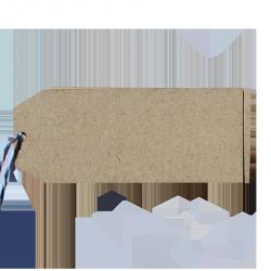 40 etiquetas rectangulares pequeñas